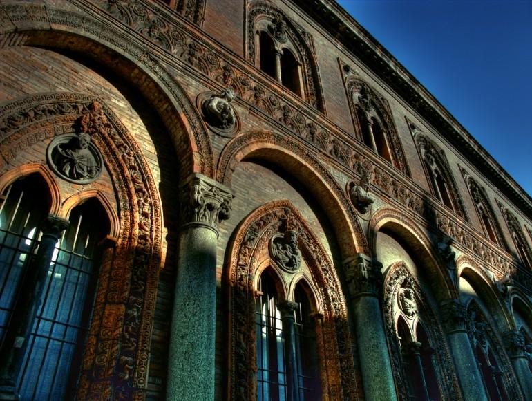 Gli spazi dell'Università Statale di Milano